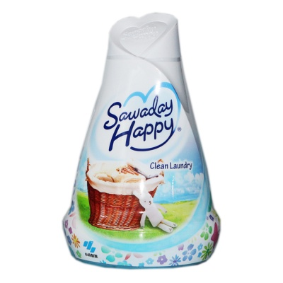 Sawaday Happy Clean Laundry Air Freshener 150g