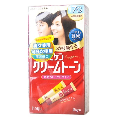 Hoyu Dye Hair Cream (Natural Dark Brown)
