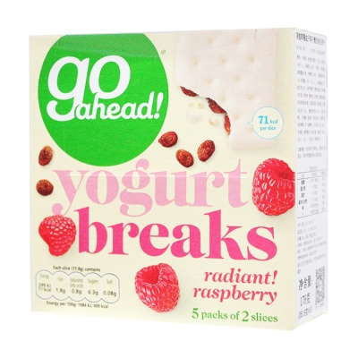 Go Ahead Yogurt Breakes(Radiant Raspberry) 178g