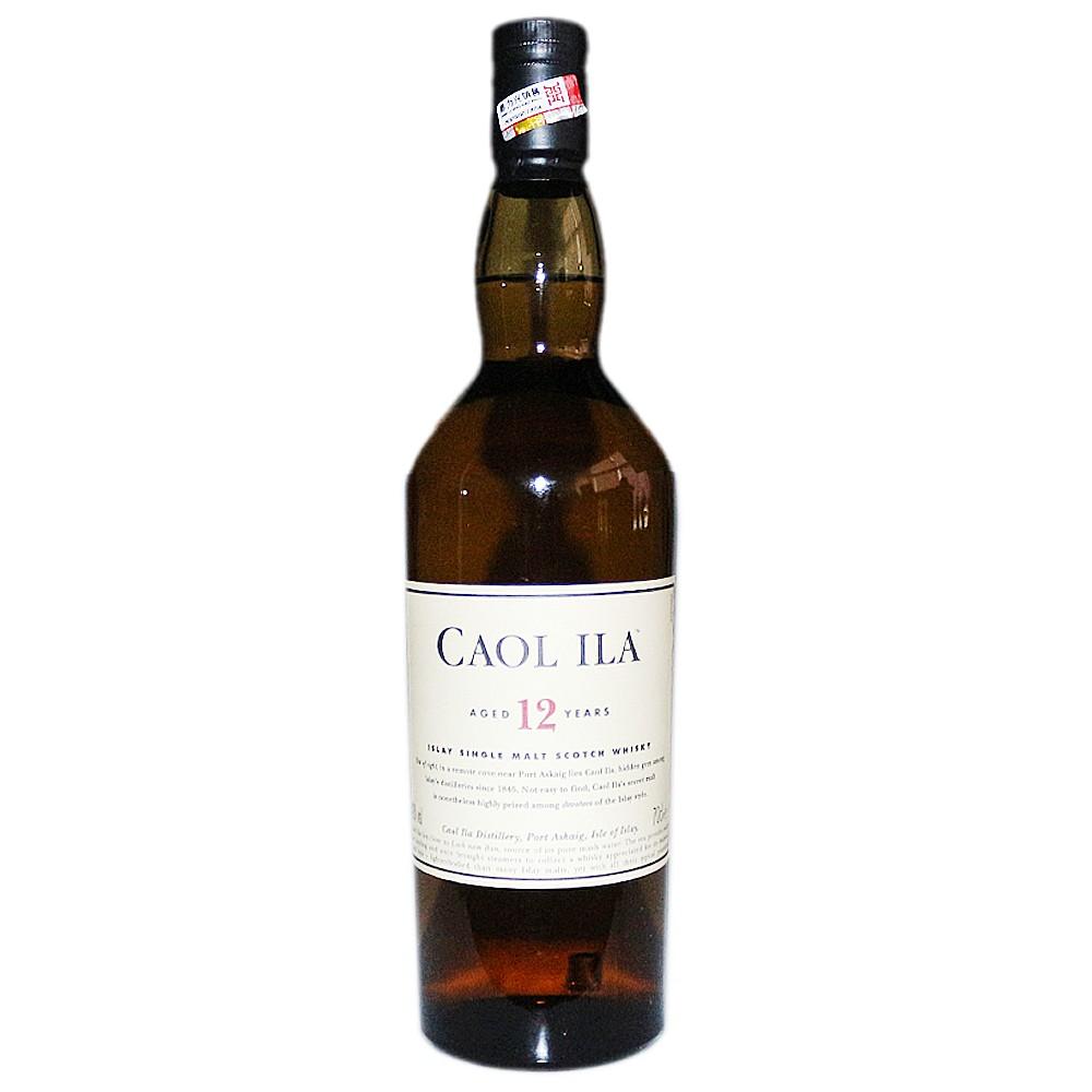 Caol Ila Islay Single Malt Scotch Whisky (Aged 12 Years) 700ml