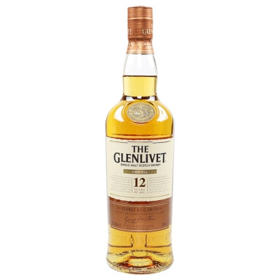 The Glenlivet 12 Years Old Single Malt Scotch Whisky 700ml