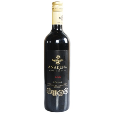 Anakena Merlot Red Wine 750ml