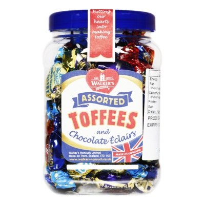 Walker's Assorted Toffees 450g