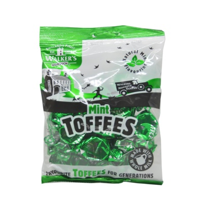 Walker's Mint Toffees 150g