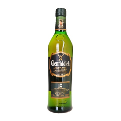 Glenfiddich Single Malt 12 Years Whisky 750ml