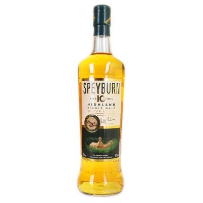 Speyburn Aged 10 Years Highland Single Malt Scotch Whisky 700ml