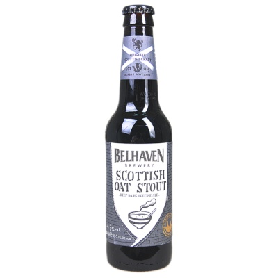 Belhaven scottish oat stout beer 330ml