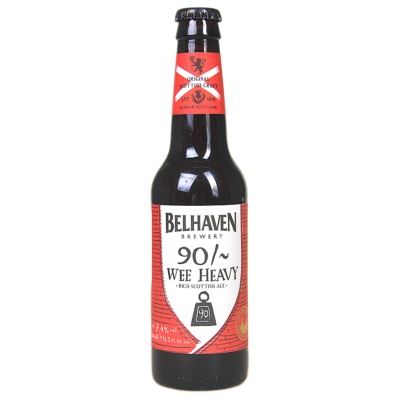 Belhaven 90% wee heavy beer 330ml