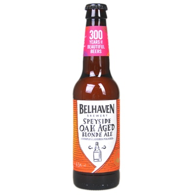 Belhaven speyside oak aged blonde beer 330ml