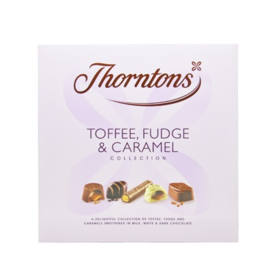 Thorntons Toffee Fudge&Caramel Collection 252g