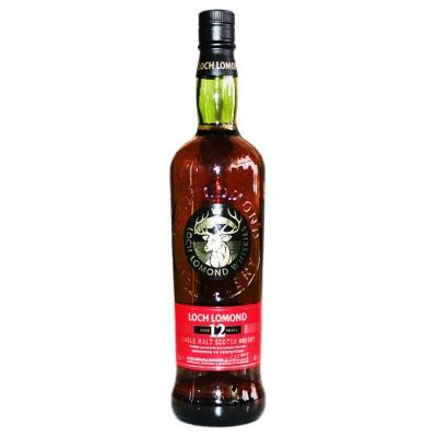 Loch Lomond 12 Years Single Malt Scotch Whisky 700ml