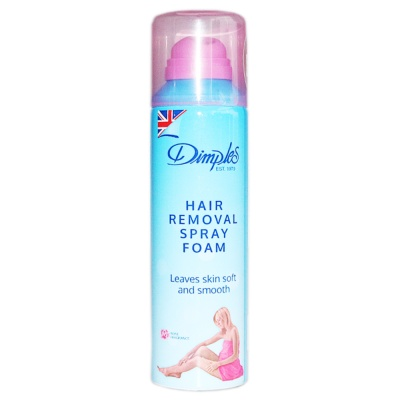Dimples Hair Removal Spray Foam (Rose Fragrance) 200ml
