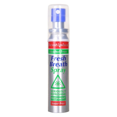Dentiplus Fresh Breath Spray (Alcohol & Sugar Free) 25ml
