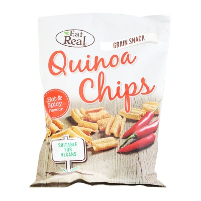 Eat Real Quinoa Chips (Hot & Spicy Flavour) 80g