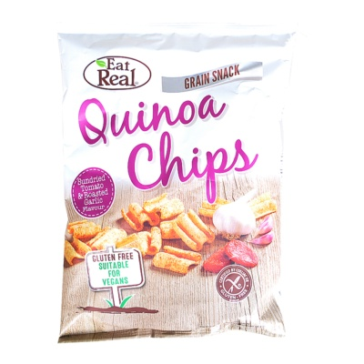 Eat Real Quinoa Chips(Sundried Tomato & Roasted Garlic Flavour) 80g