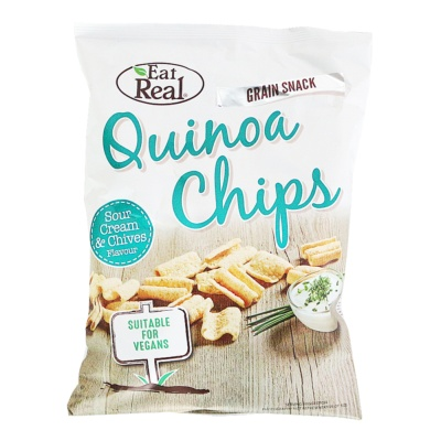 Eat Real Quinoa Chips (Sour Cream & Chives Flavour) 80g