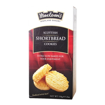 Maclean's Highland Bakery Scottish Shortbread Cookies 150g