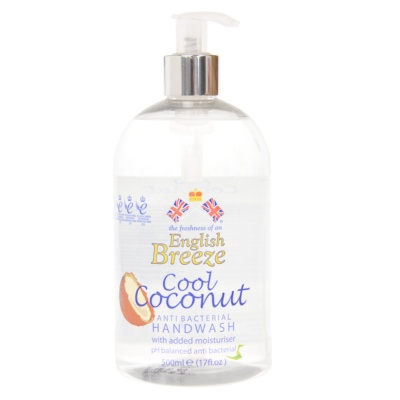 English Breeze Cool Coconut Hand Wash 500ml