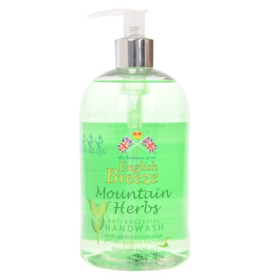 English Breeze Mountain Herbs Handwash 500ml