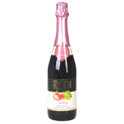 Heaven Sparkling Drink Grape&Strawberry 750ml