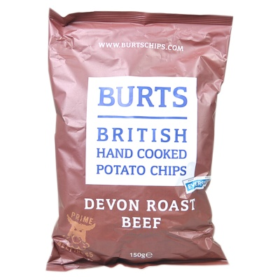 Burits Devon Roast Beef Potato Chips 150g