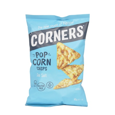 Corners Sea Salt Pop Corn Crisps 85g