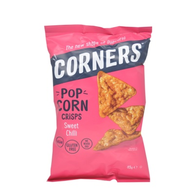 Corners Sweet Chilli Pop Corn Crisps 85g