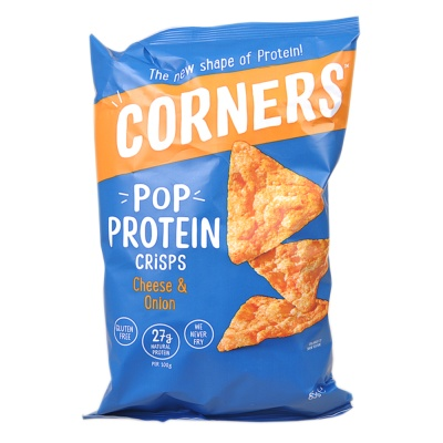 Corners Pop Protein Cheese & Onion Crisps 85g