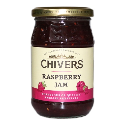 Chivers Raspberry Jam 340g