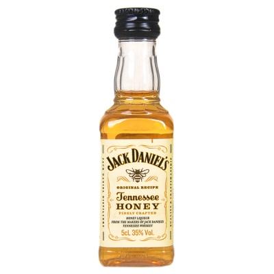 杰克丹尼田纳西州威士忌蜂蜜味力娇酒酒办(配制酒) 50ml