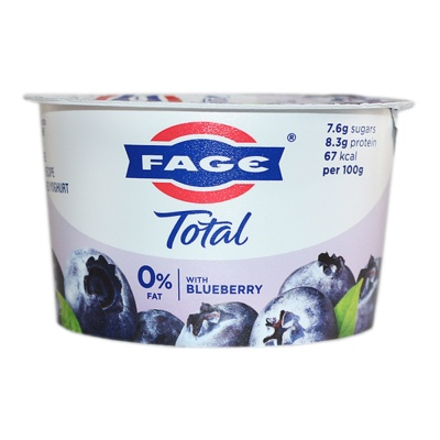 Fage Total 0% Yoghurt Blueberry 170g