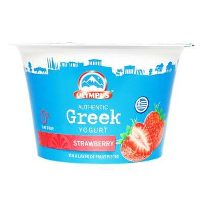 Olympus Thick&Creamy Strawberry Greek Yogurt 150g