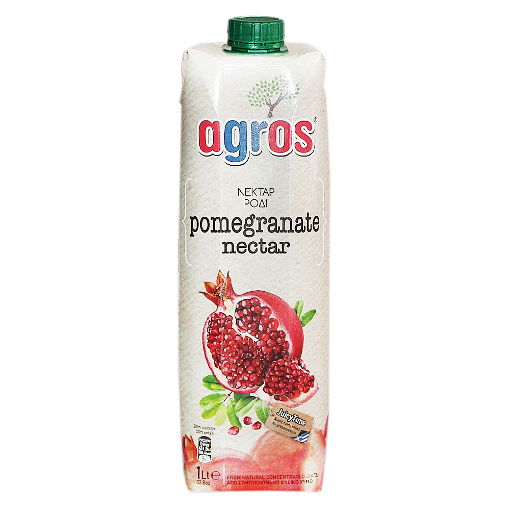 Agros Pomegranate Juice Nectar 1L