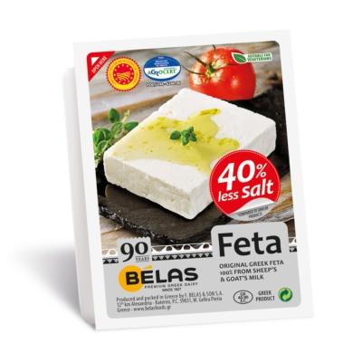 Belas 40%Less Salt Feta 200g