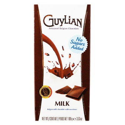 Guylian Belgian Milk Chocolate (No Sugars Added) 100g