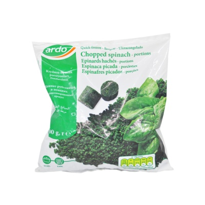 Ardo Chopped Spinach In Portions(Quick-Frozen) 400g