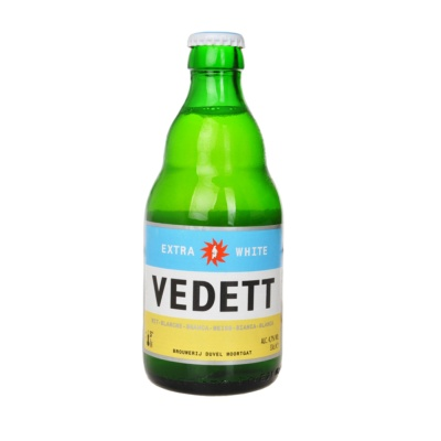 Extra White Vedett Beer 330ml