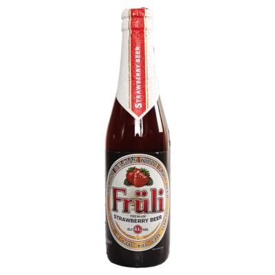 芙力草莓啤酒 330ml