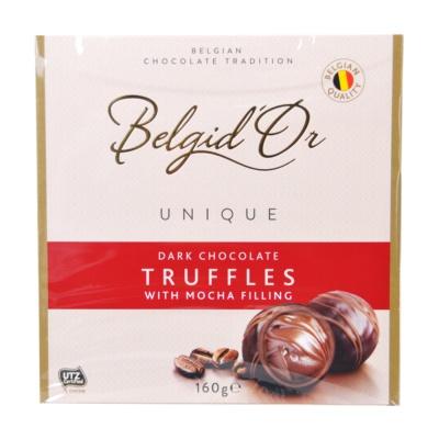 Belgid'Or Mocha Soft Dark Chocolate 160g