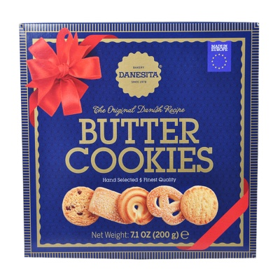 Danesita Classic Butter Cookies 200g