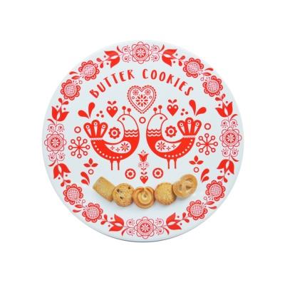 丹妮丝塔红色假日黄油曲奇饼干礼盒 454g