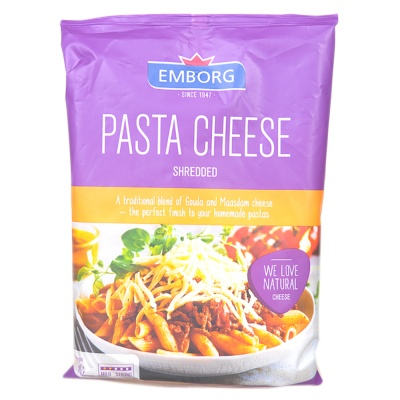 Emborg Shredded Pasta Cheese 200g