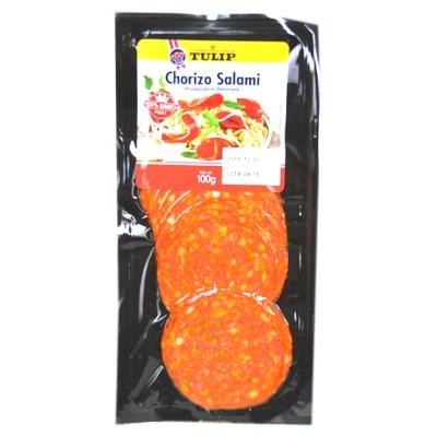 Tulip Chorizo Salami Slice 100g