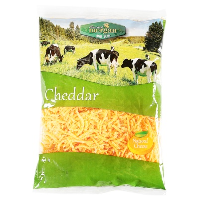Morgan Grated Colored Cheddar Cheese 200g