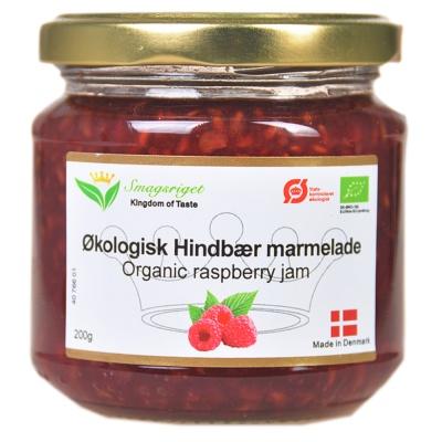 Kingdom Of Taste Organic Raspberry Jam 200g