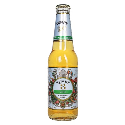 Tempt No.3 Apple Flavoured Cider 330ml