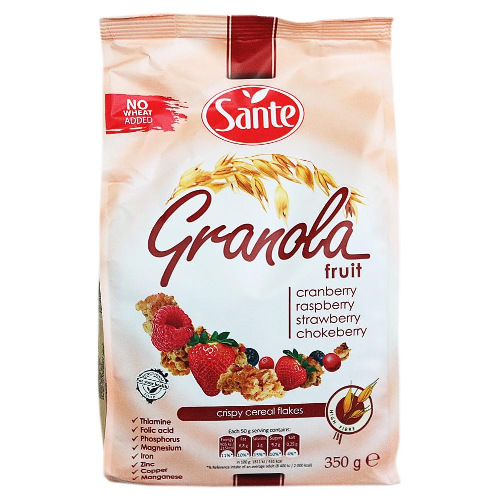 Sante Fruit Crispy Cereal Flakes 350g