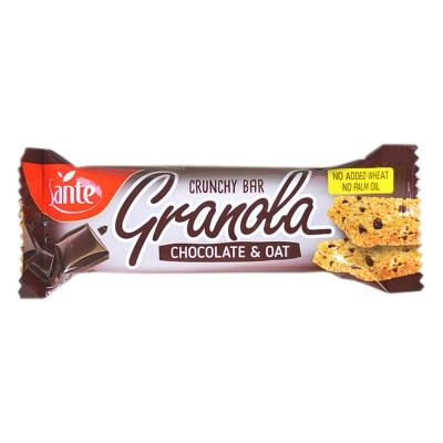 Sante Granola Chocolate & Oat Crunchy Bar 40g