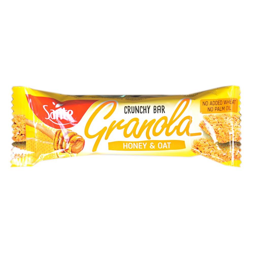 Sante Granola Honey & Oat Crunchy Bar 40g