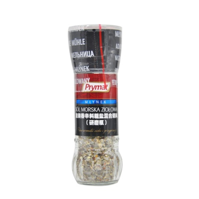 Prymat Spice&Crude Salt Mill 80g